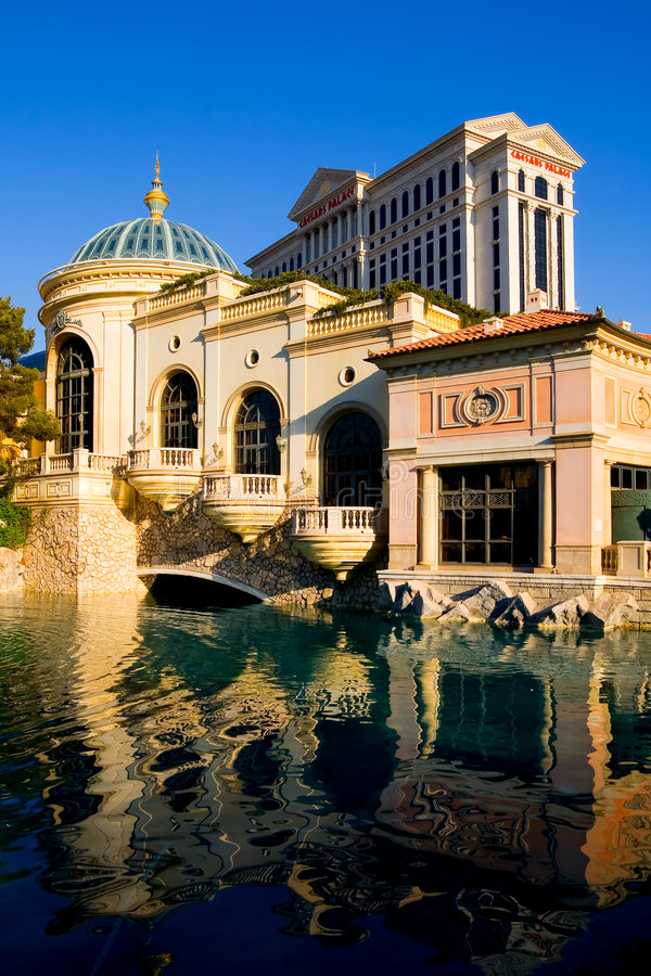 Caesars Palace em Las Vegas imagens de stock royalty free