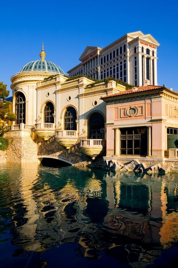 Caesars Palace en Las Vegas imágenes de archivo libres de regalías