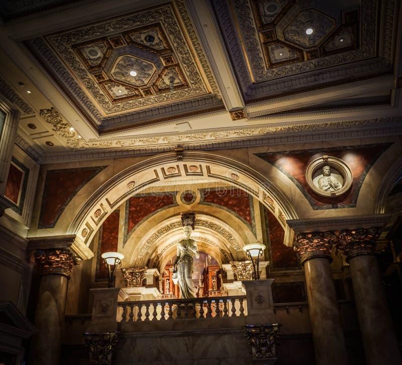 Caesars Palace en Las Vegas imagenes de archivo