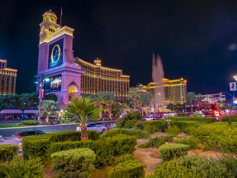 Caesars Palace Hotel & Casino, Las Vegas, Nevada, Vereinigte Staaten von Amerika stockfotos