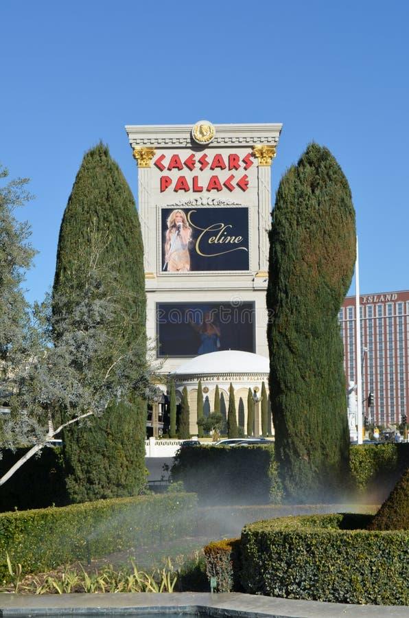 Caesars Palace, McCarran lotnisko międzynarodowe, dom, architektura, drzewo, buduje obrazy royalty free