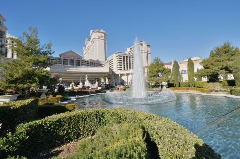 Caesars Palace, nieruchomość, woda, nieruchomość, dzień zdjęcie stock