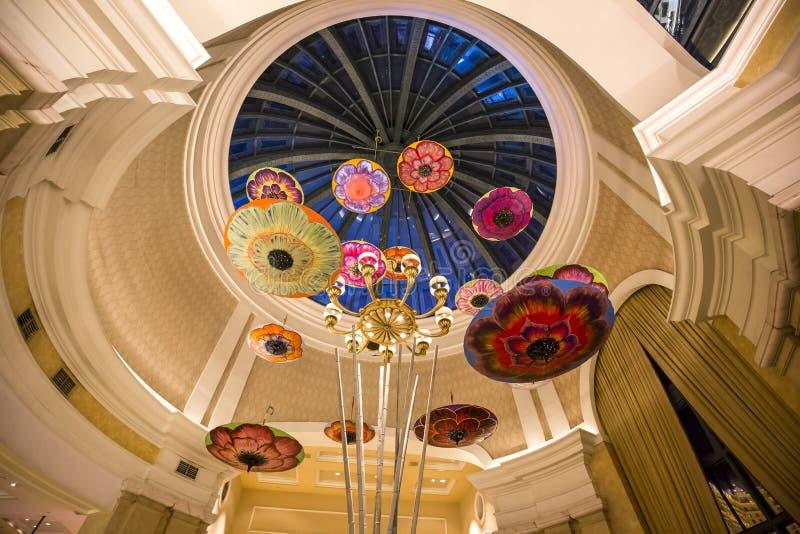 Caesars Palacehotelllobby, Las Vegas, Nevada royaltyfri foto