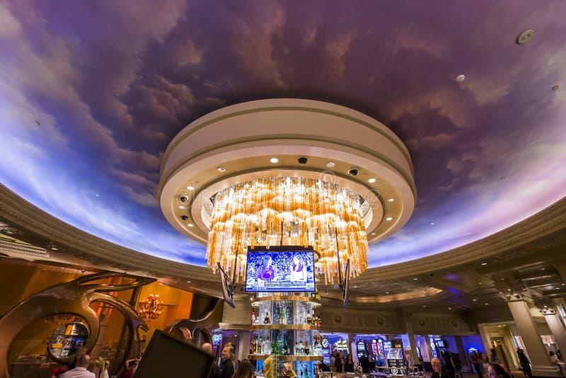 Caesars Palacehotelllobby, Las Vegas, Nevada royaltyfria foton