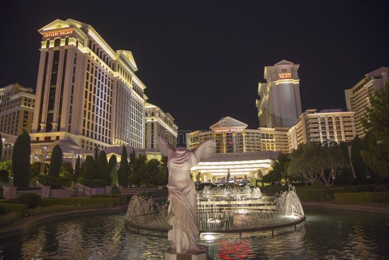 Caesars PalaceLas Vegas hotell & kasino arkivfoto