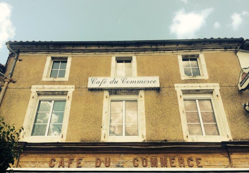 Café du Commerce lizenzfreies stockfoto