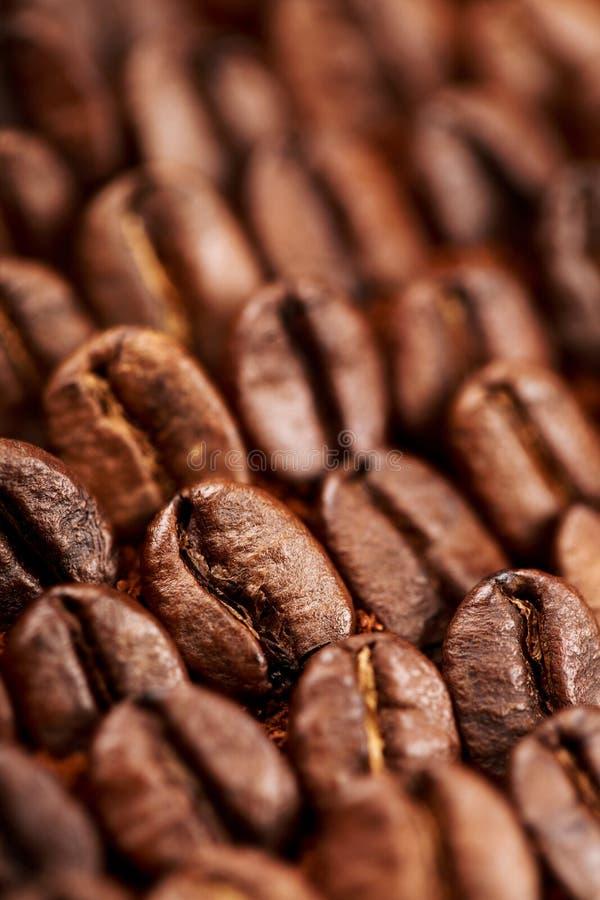 Cafè de haricot et moulu images stock