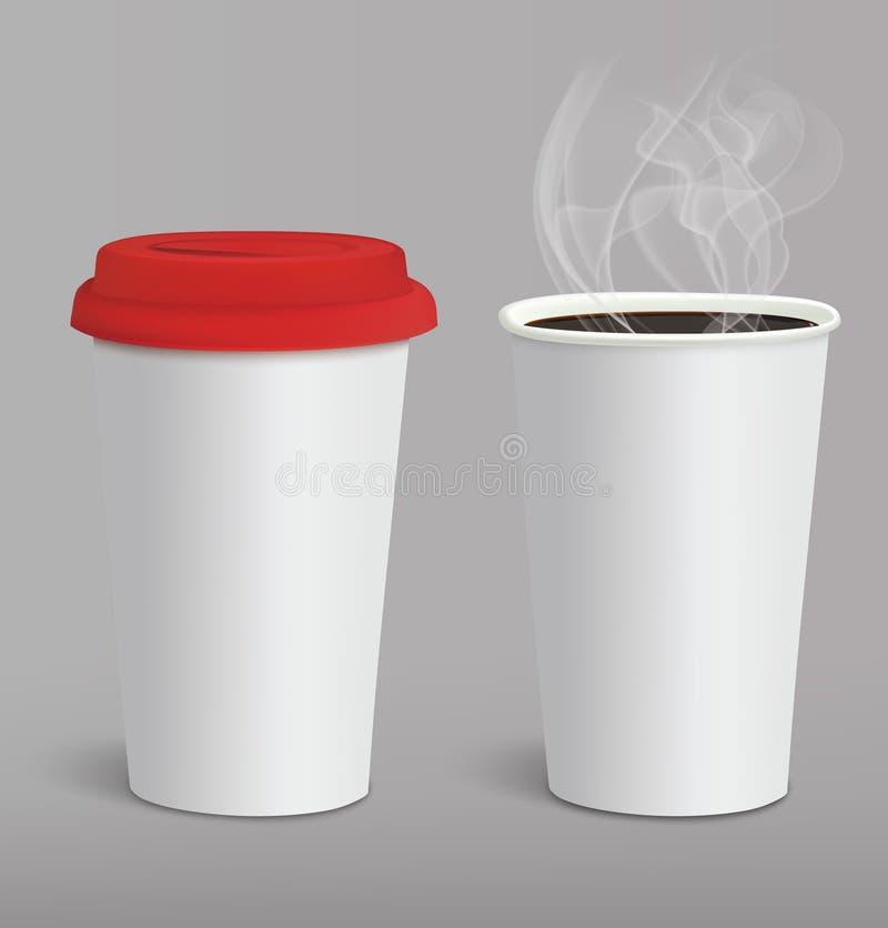 Café à emporter illustration de vecteur