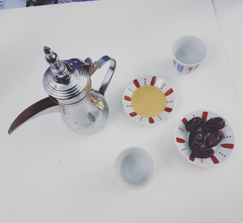 Café árabe foto de stock royalty free