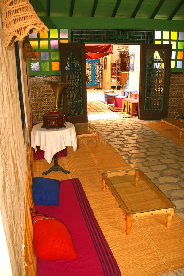 Café árabe imagens de stock