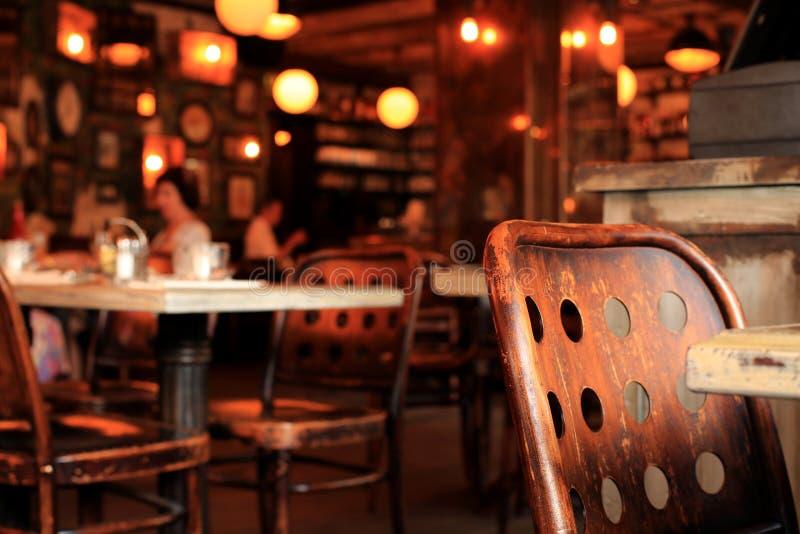 Café στο Παρίσι στοκ φωτογραφίες