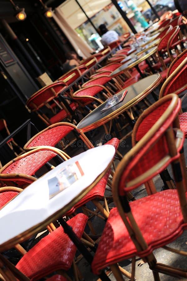 Café στο Παρίσι στοκ φωτογραφία