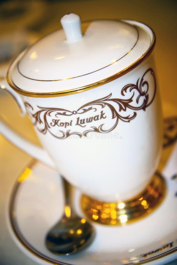 Café 01 de Luwak imagens de stock