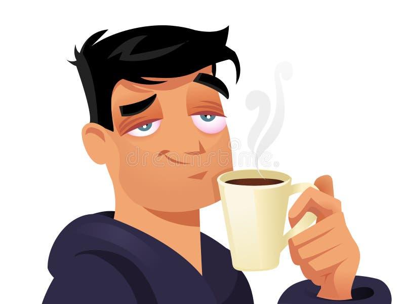 Café ilustração do vetor