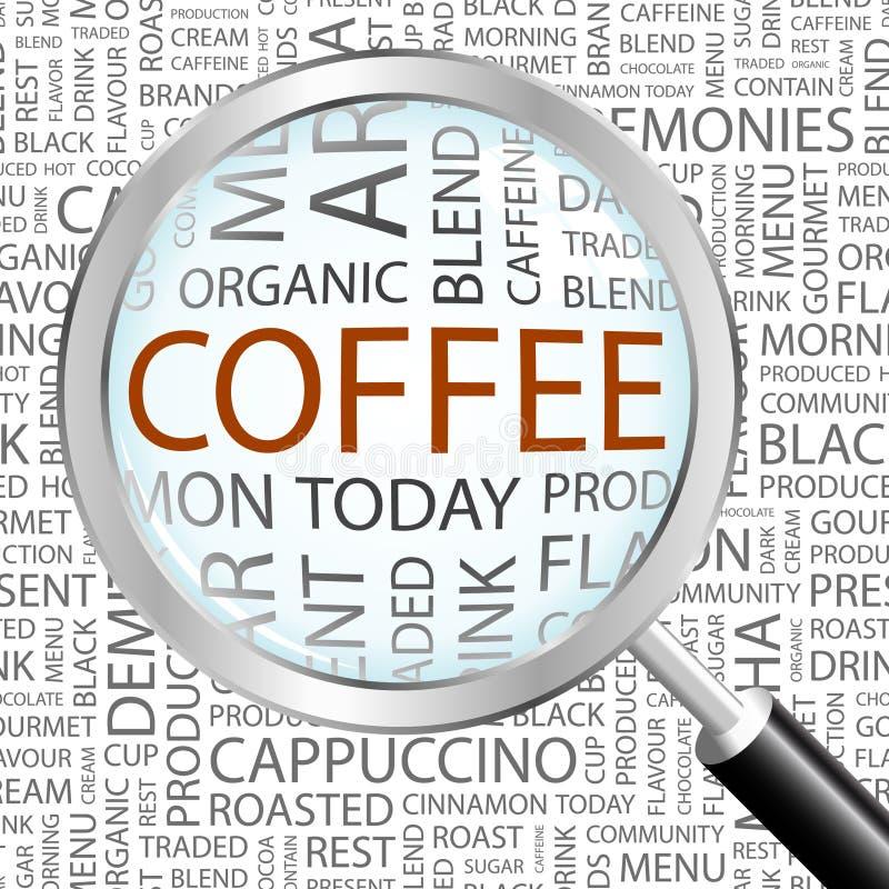 CAFÉ. illustration libre de droits