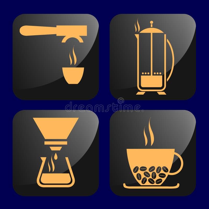 Café illustration stock