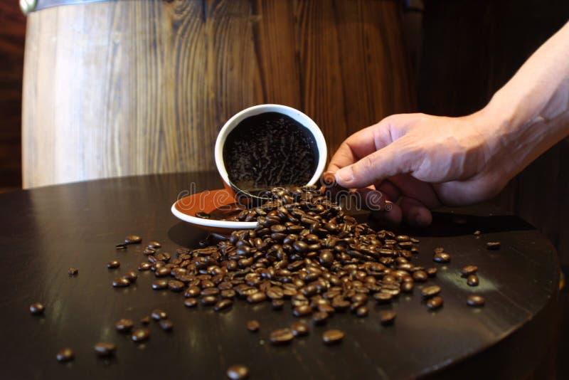 Download Café photo stock. Image du texture, goût, brun, sorts, matin - 53062