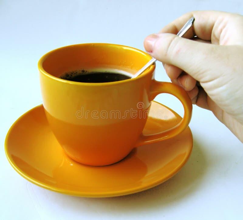 Download Café #8 foto de stock. Imagem de teaspoon, agitar, mão - 107854