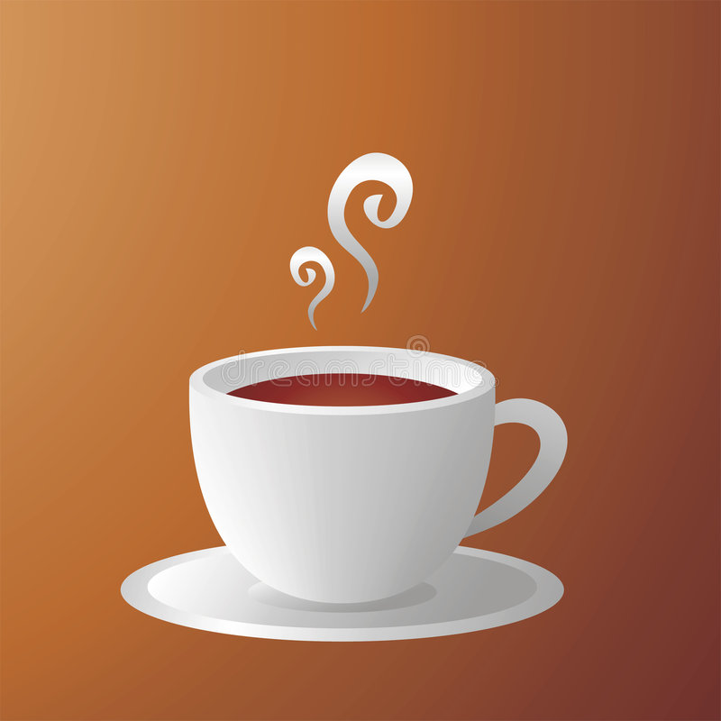 Café ilustração stock
