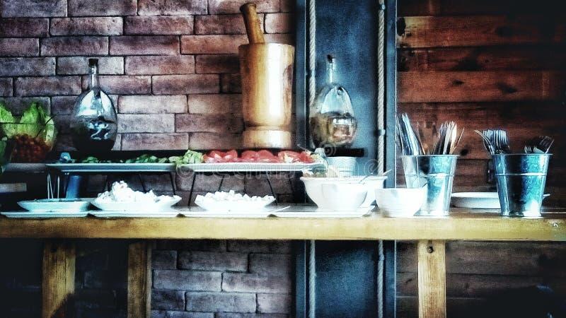 Café acogedor ¡! fotos de archivo