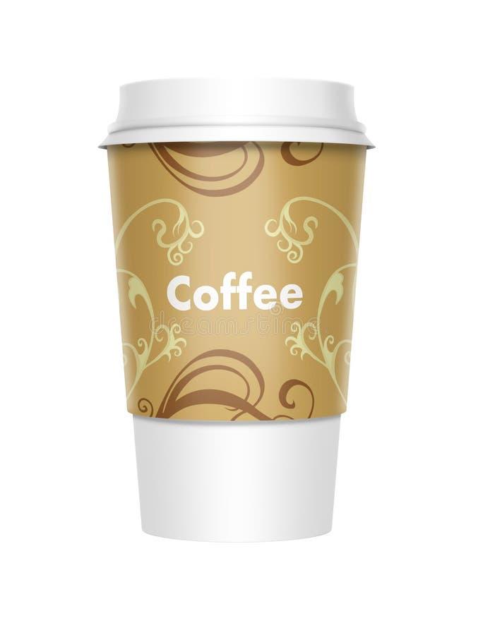 Café afastado ilustração royalty free
