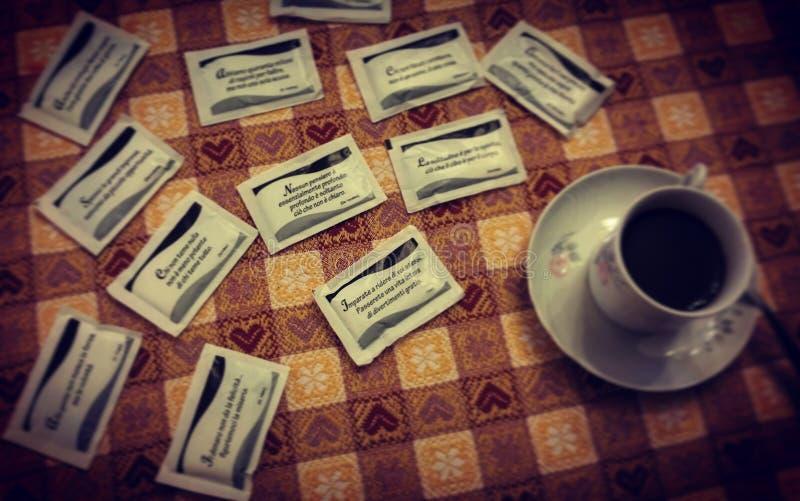 Café aforístico fotografia de stock royalty free