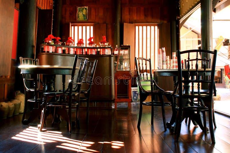 Café antiguo foto de archivo