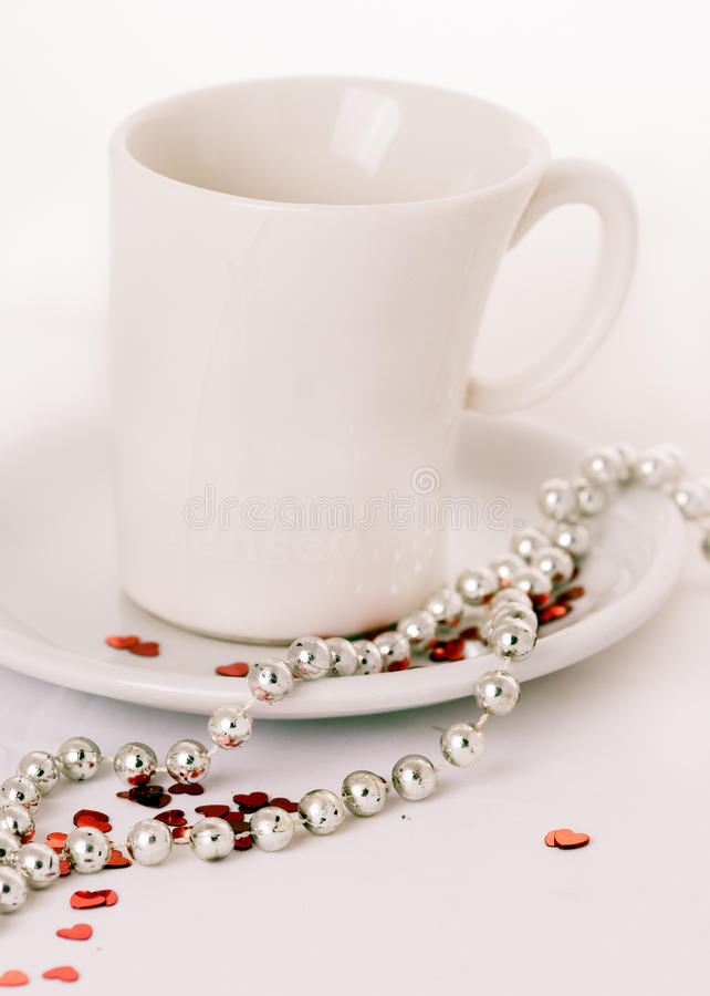 Café avec amour photos stock