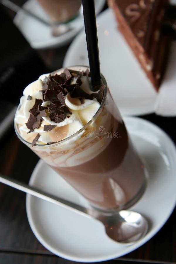 Café avec de la crème photos libres de droits