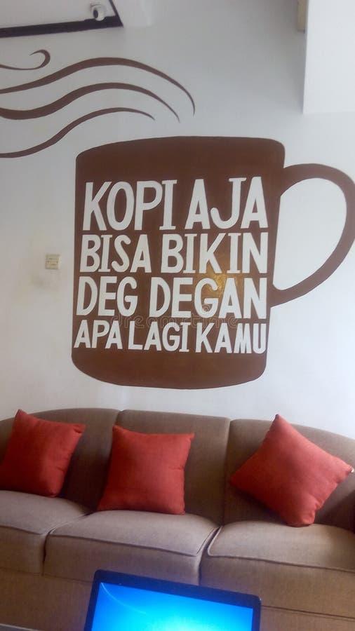 Café Bali fotos de archivo