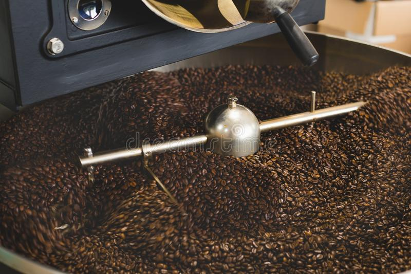 Café Bean Roaster imagen de archivo