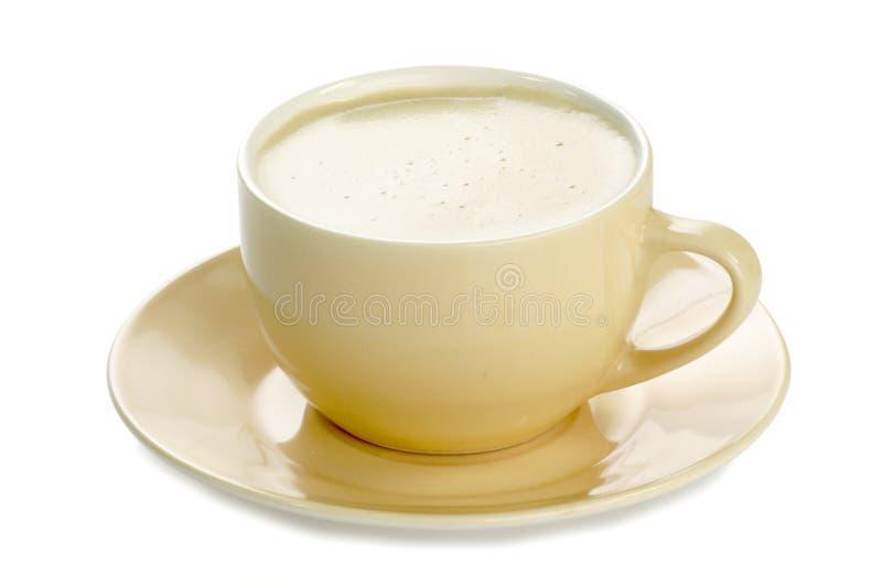 Café blanc photographie stock