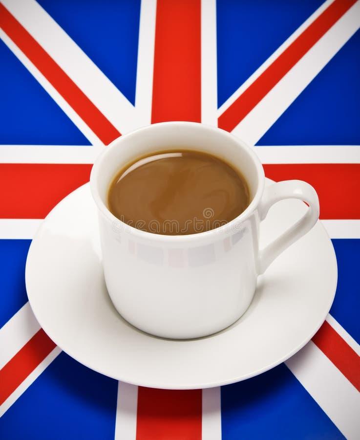 Café britânico fotografia de stock royalty free