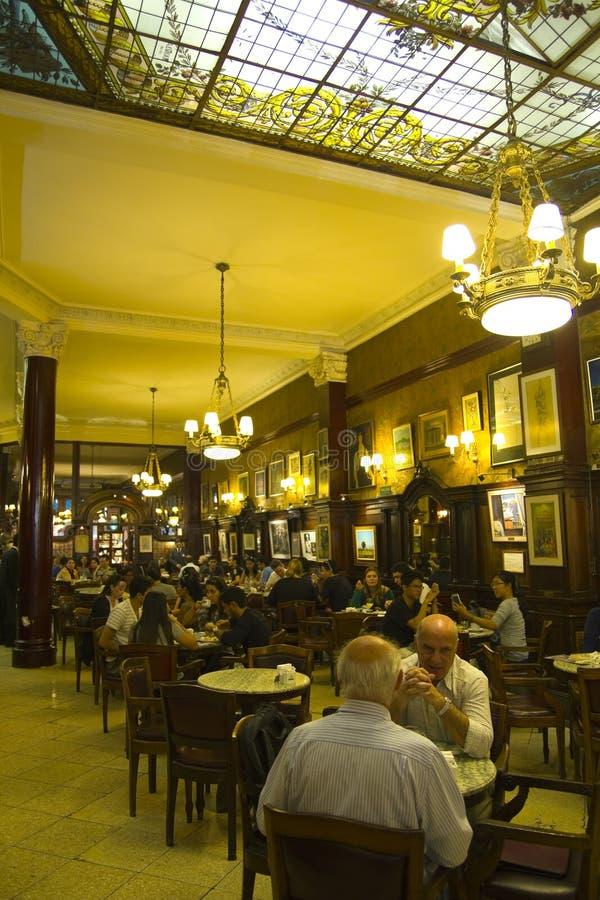 Café Buenos Aires fotografía de archivo