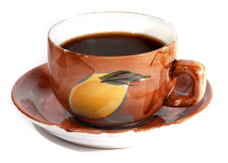 Café caliente imagenes de archivo