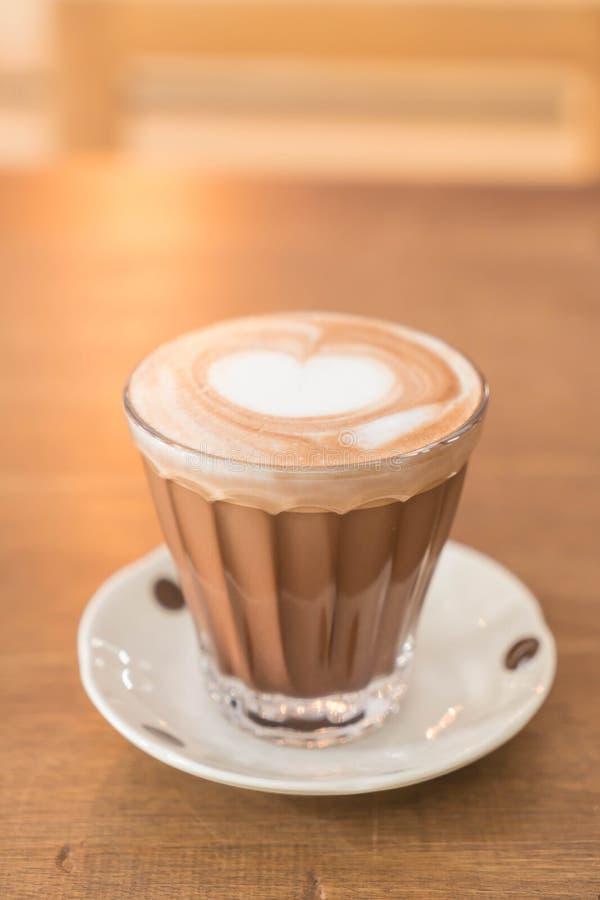 Café chaud de moka image stock