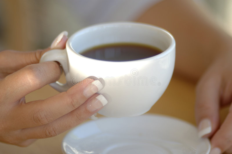 Café classique image libre de droits