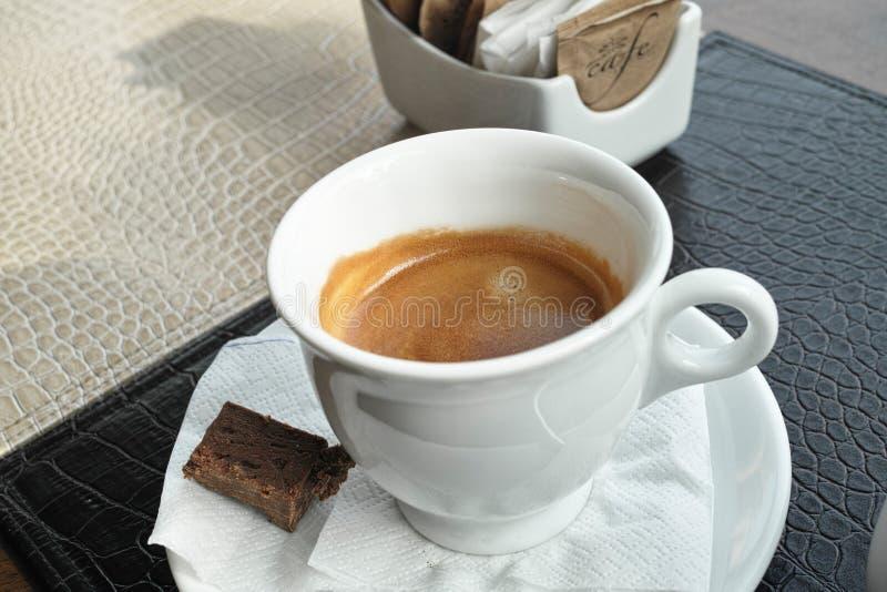 Café com chocolate fotos de stock royalty free