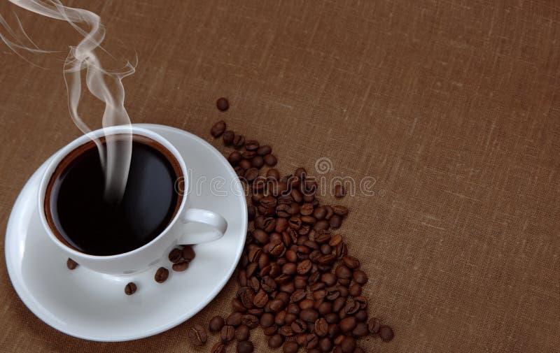 café com espaço da cópia fotografia de stock royalty free