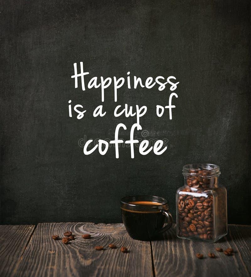 Café com feijões fotos de stock royalty free