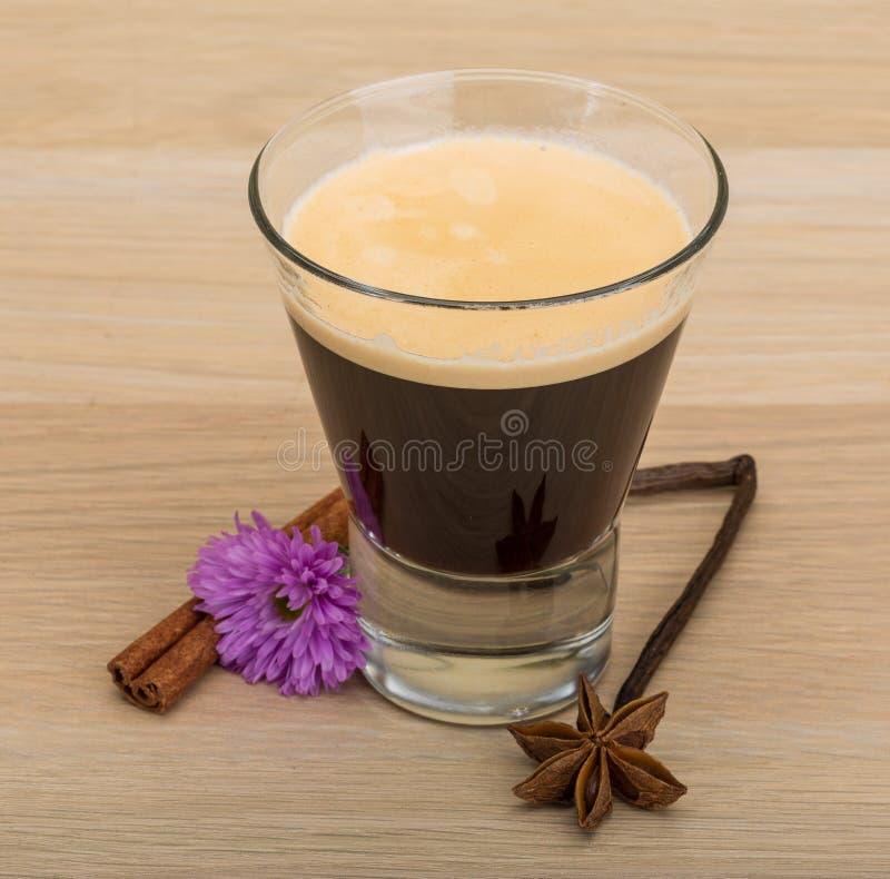 Café com flor foto de stock