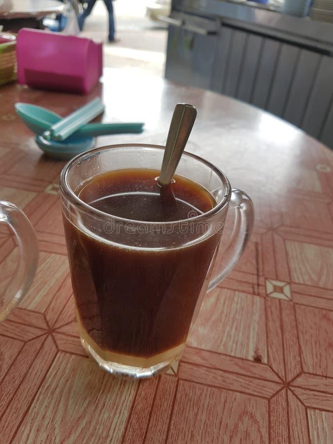 Café com leite condensado imagem de stock royalty free
