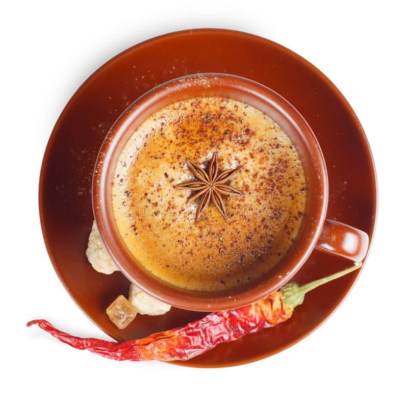 Café com pimenta fotos de stock royalty free