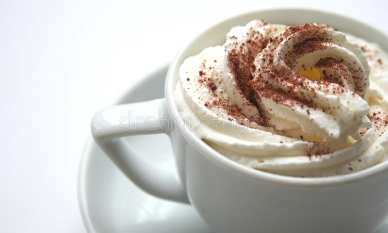 Café com pingamento imagem de stock
