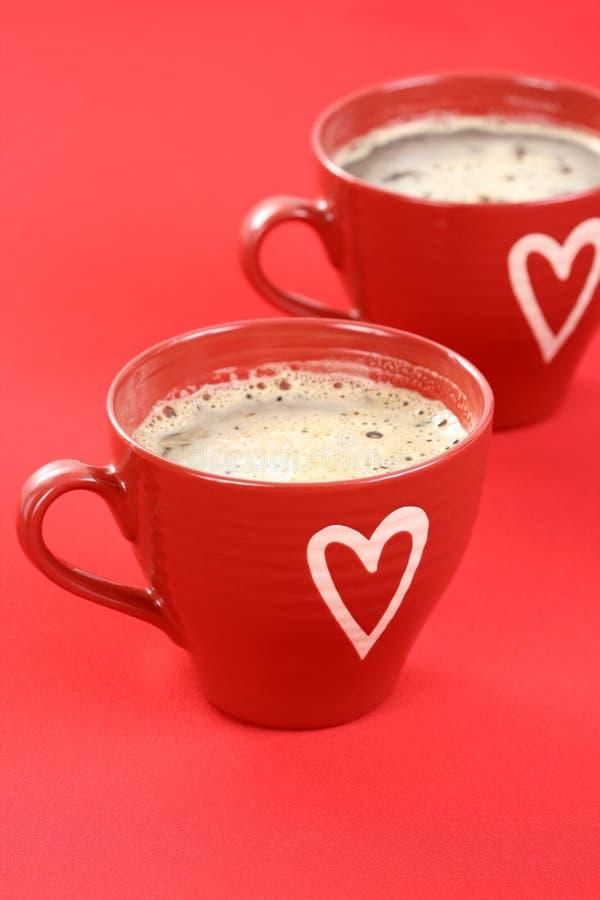 Download Café con amor foto de archivo. Imagen de caliente, aromático - 7284628