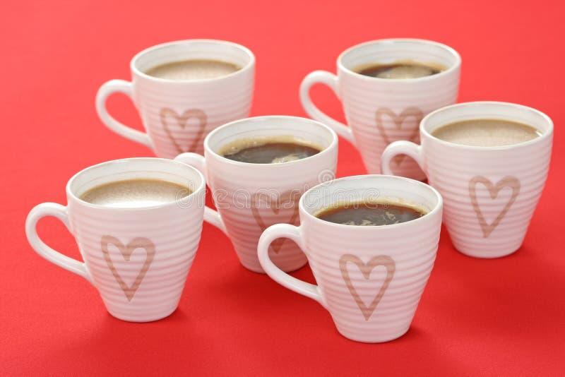 Download Café con amor foto de archivo. Imagen de sorpresa, shape - 7285028