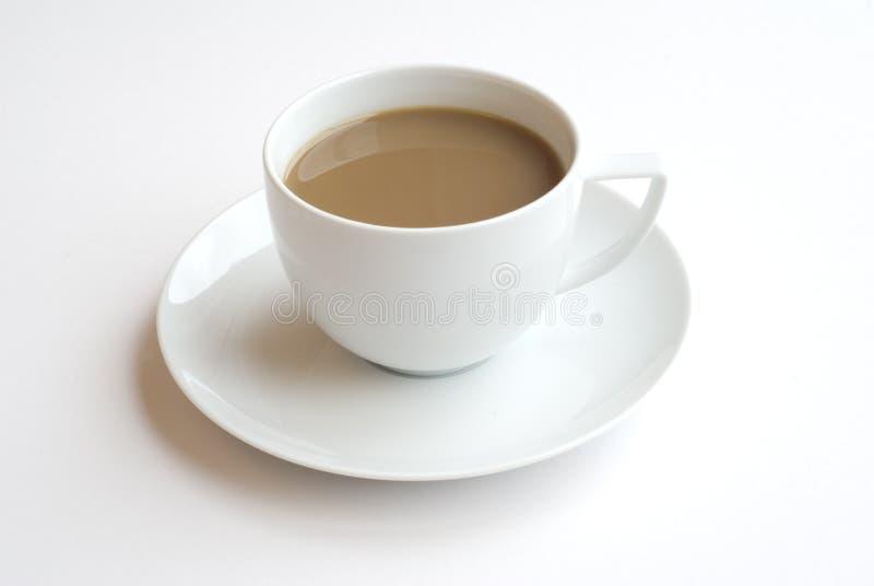 Café con leche fotografía de archivo