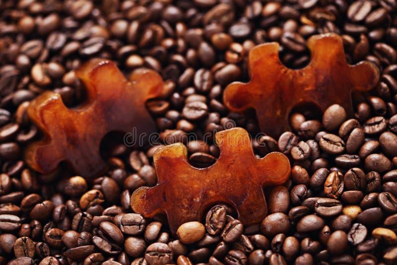 Café congelado fotografia de stock