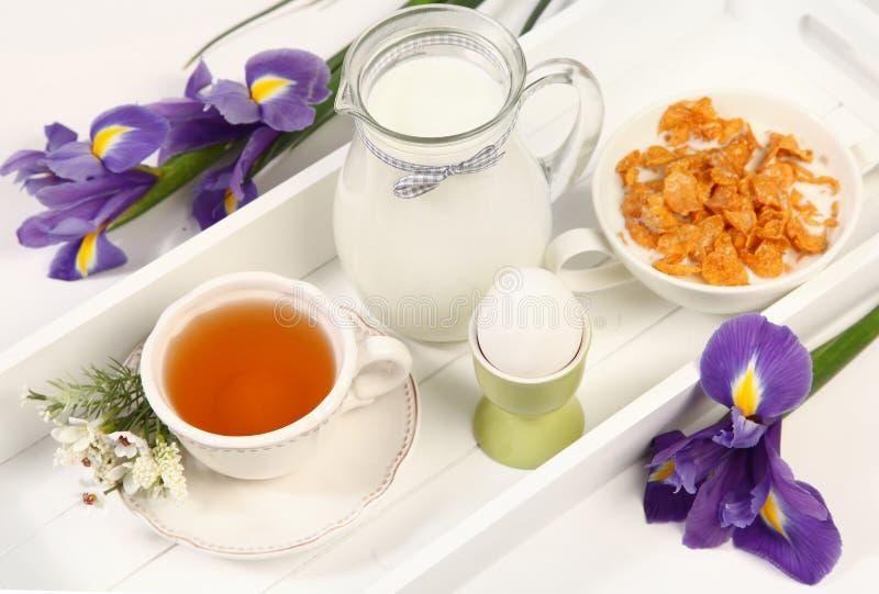 Café da manhã da Páscoa foto de stock
