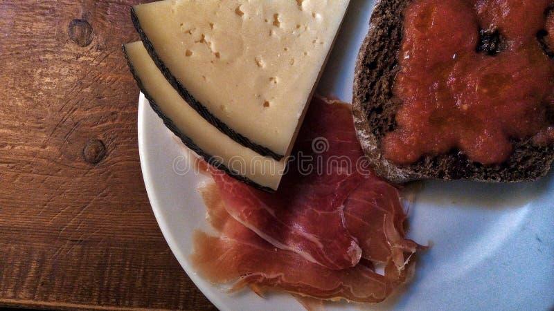 Café da manhã do espanhol foto de stock royalty free